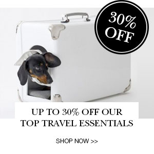 30% Off Travel Essentials
