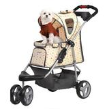 Cream Dog Buggy