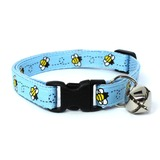 Blue Bumblebees Collar