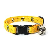 Yellow Bumblebees Collar