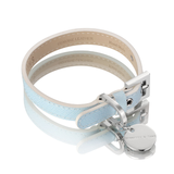 Saffiano Collar – Baby Blue