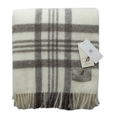 York Check Wool Throw