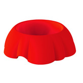 Daisy Bowl in Red