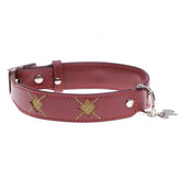 Mackie Dog Collar in Red