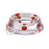 Strawberry Dog Bowl