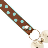 Poochie Bells, Polka Dot (Brown)