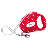 Polka Dot Retractable Lead