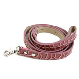 Mock-Croc Dog Lead