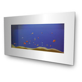 Large Mirror Wall Aquarium