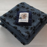 Harbour Paw Print Blanket