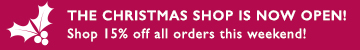 PRODUCT - CHRISTMAS SHOP LAUNCH